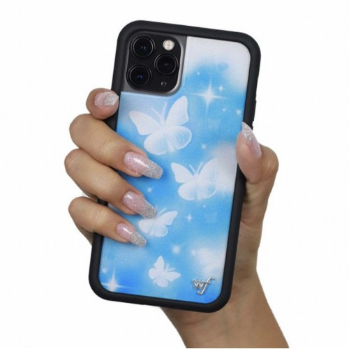 Wildflower Cases Butterfly Sky iPhone Case