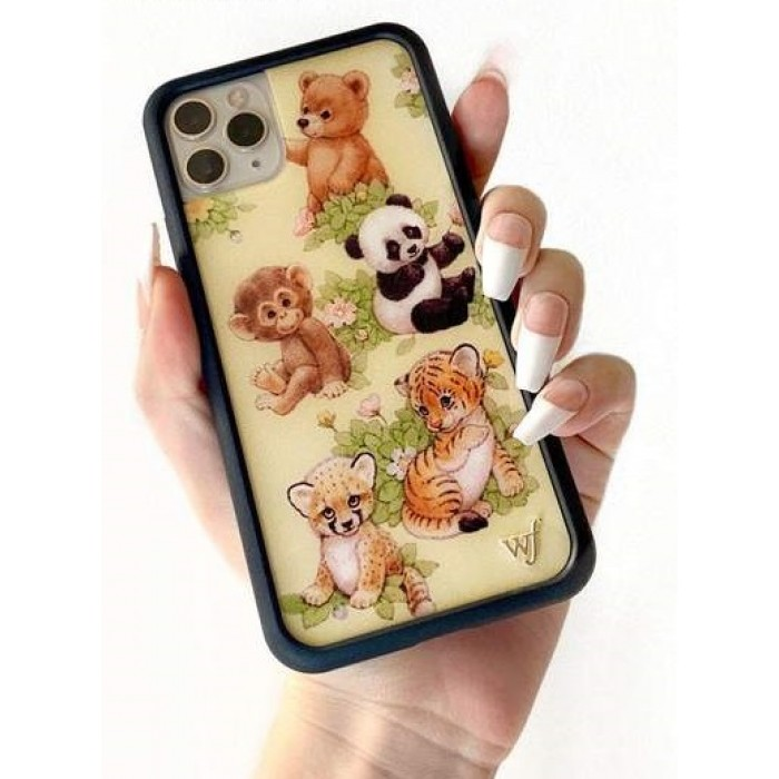 Wildflower Cases Safari Babies iPhone Case