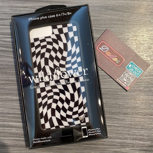 Wildflower Cases Crazy Checkers iPhone Case