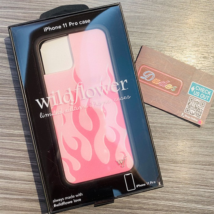 Wildflower Cases Flames Pink iPhone Case