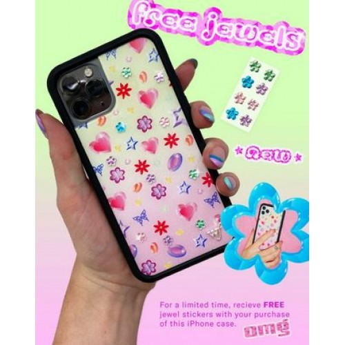 Wildflower Cases Jewels iPhone Case