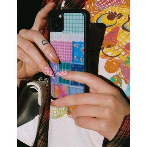 Wildflower Cases Patchwork iPhone Case