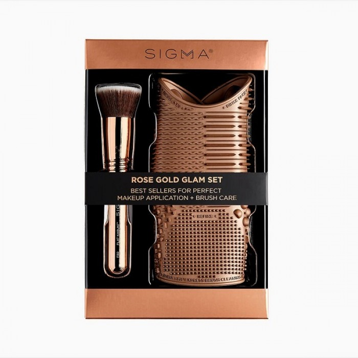 Rose Gold Glam Set by Sigma Beauty