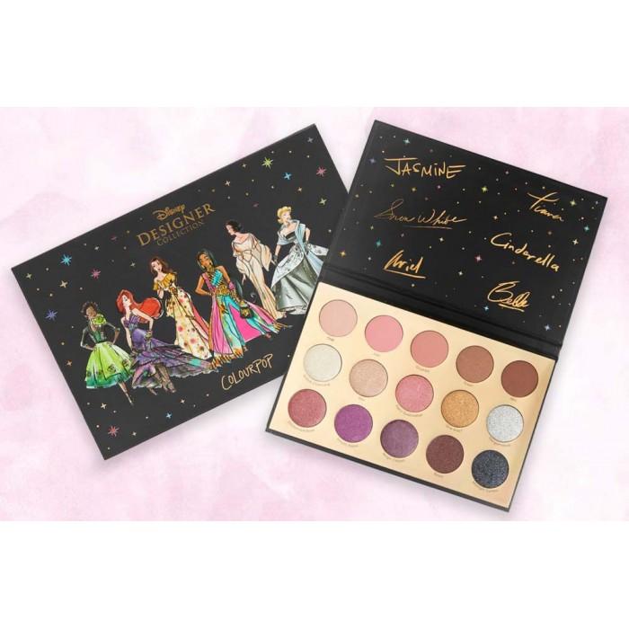 Disney Designer Collection Eyeshadow Palette by Colourpop **7 Biz Days Delivery**