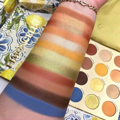 Colourpop Limoncello Eyeshadow Palette