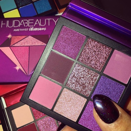 Amethyst Obsessions Palette by Huda Beauty ** Pre-Order: 7 Business Day Delivery**
