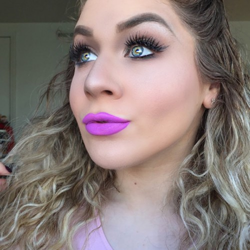 Liquid Lipstick Rave by LIME CRIME