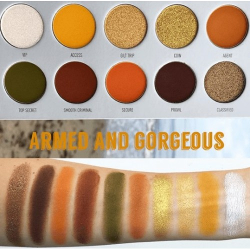 JACLYN HILL The Vault Eyeshadow Palette Armed & Gorgeous  by MORPHE