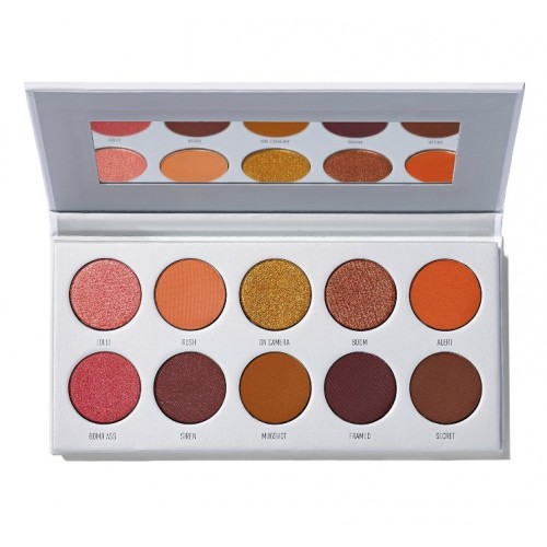 JACLYN HILL The Vault Eyeshadow Palette Ring The Alarm by MORPHE