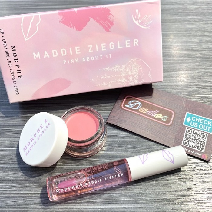 **Maddie Ziegler Pink About It Lip & Cheek Duo by MORPHE