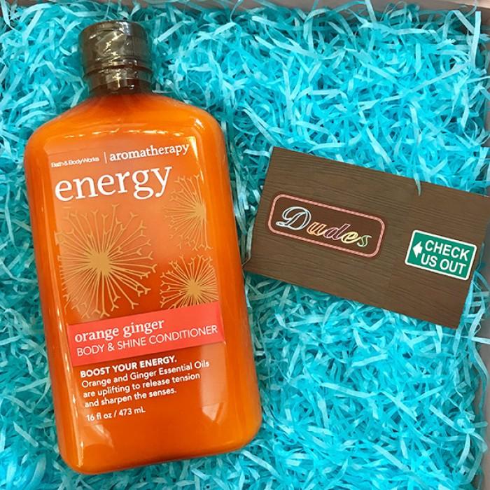 Bath & Body Works Body & Shine Conditioner Energy Orange Ginger