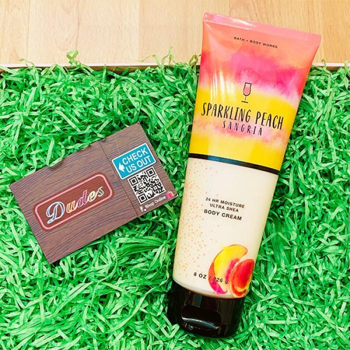 Bath & Body Works Body Cream Sparkling Peach Sangria