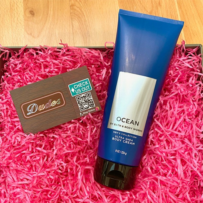 Bath & Body Works Body Cream Men's Collection Ocean
