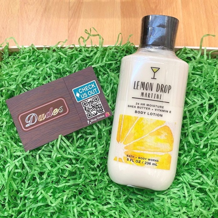 Bath & Body Works Body Lotion Lemon Drop Martini