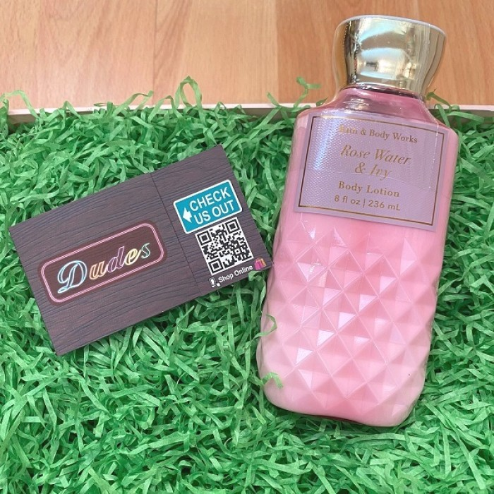 Bath & Body Works Body Lotion Rose Water & Ivy