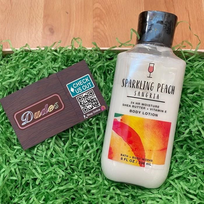 Bath & Body Works Body Lotion Sparkling Peach Sangria