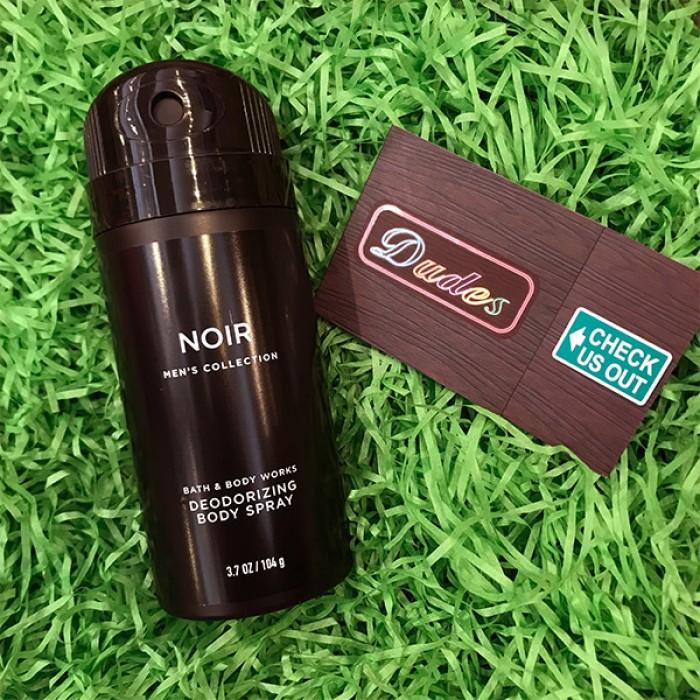 Bath & Body Works Deodorizing Body Spray for Men Noir