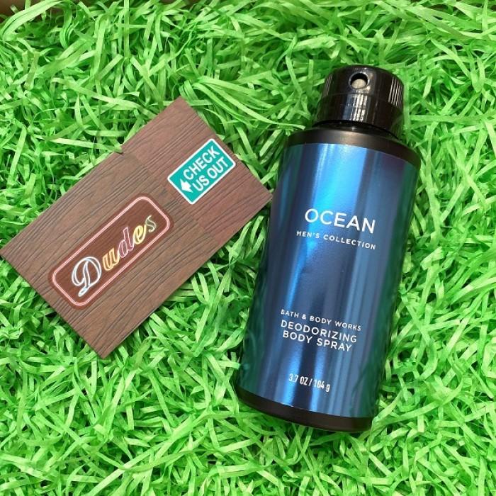 Bath & Body Works Deodorizing Body Spray for Men Ocean