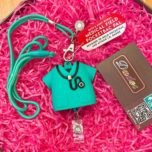 Bath & Body Works PocketBac Hand Sanitizers Holder Medical Theme (Hand Sanitizer is NOT included)