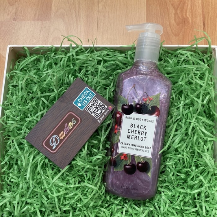 Bath & Body Works Creamy Luxe Soap Black Cherry Merlot