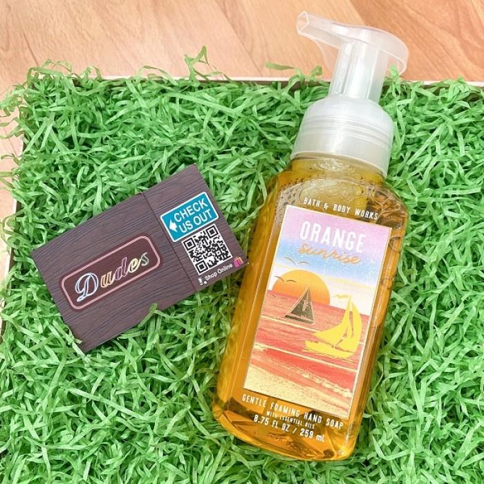 Bath & Body Works Foaming Soap Orange Sunrise