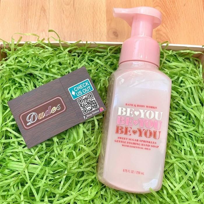 Bath & Body Works Foaming Soap Be You Sweet Sugar Sprinkles