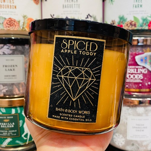 Bath & Body Works 3-Wick Candle Spiced Apple Toddy