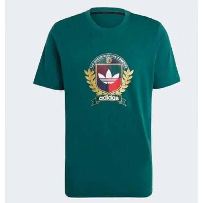 Adidas C Crest Tee Green