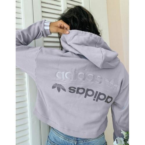 Adidas Grey Hoodie