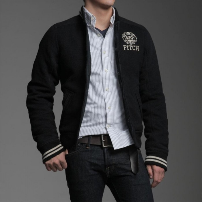 Abercrombie & Fitch 92 Patch Men Outerwear