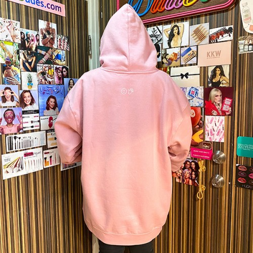 *Limited Edition* Pink Hoodie by Glossier *7-10 Biz Days Delivery