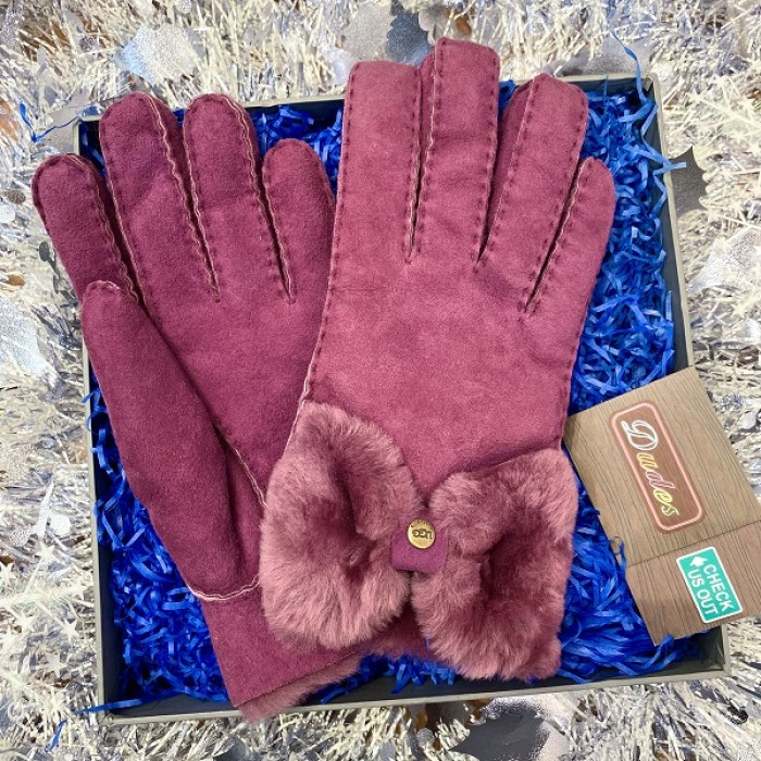 UGG Women Gloves Purple