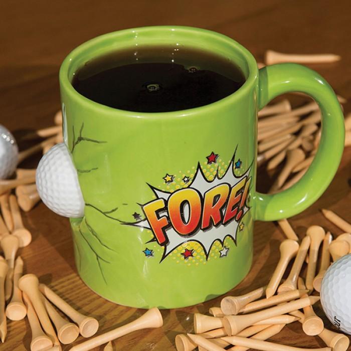 FORE Golfer's Mug