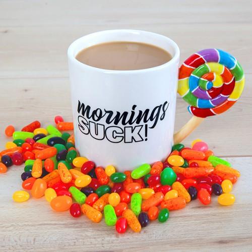 Morning Sucks Mug