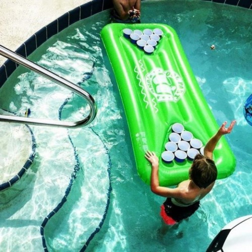 Inflatable Beer Pong Green