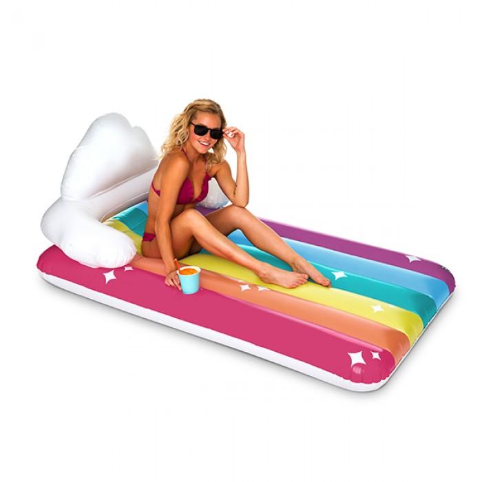Giant Pool Float Rainbow Lounge