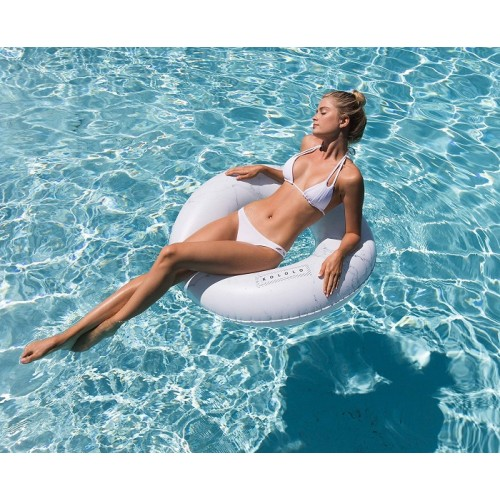 Marble Pool Float White