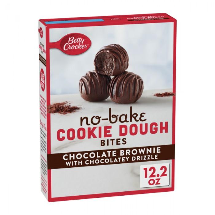 Cookie Dough Bites Chocolate Brownie No Bake