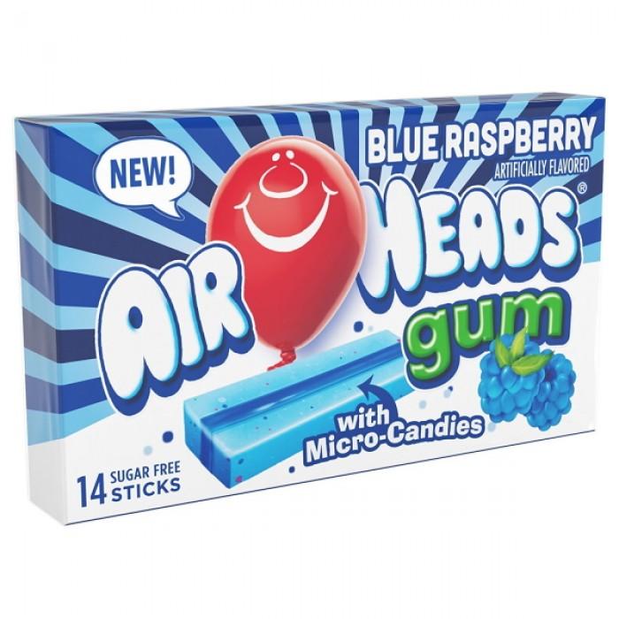 Airheads Gum Blue Raspberry