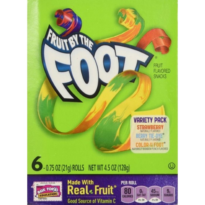 Fruit By The FOOT Candy - 6 counts ( vs Original Value: HK$60 )