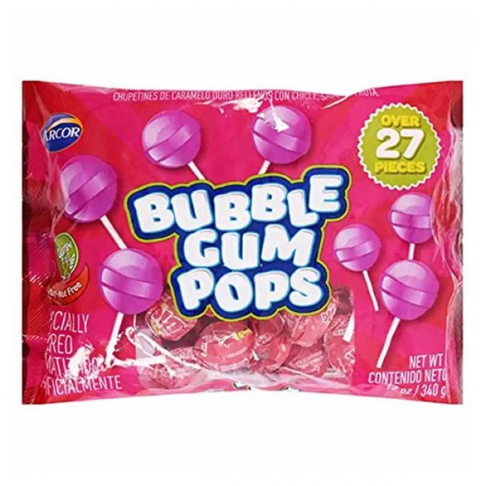 Arcor Bubble Gum Pops Bag (12 oz)