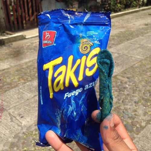 Takis Stix - Blue Heat (Fuego Flavor - Hot Chili Pepper)