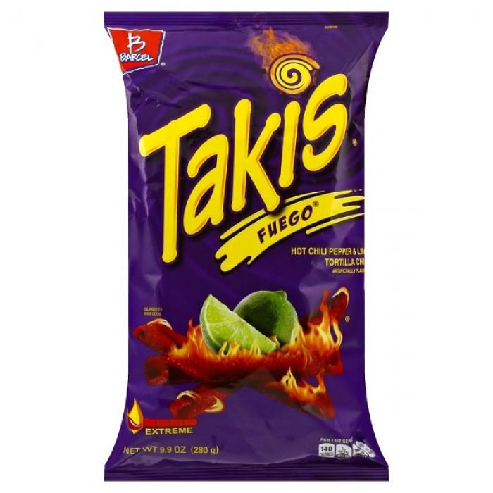 Takis Fuego (Hot Chili Pepper & Lime)