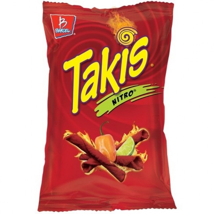 Takis Nitro Habanero & Lime Tortilla Chips