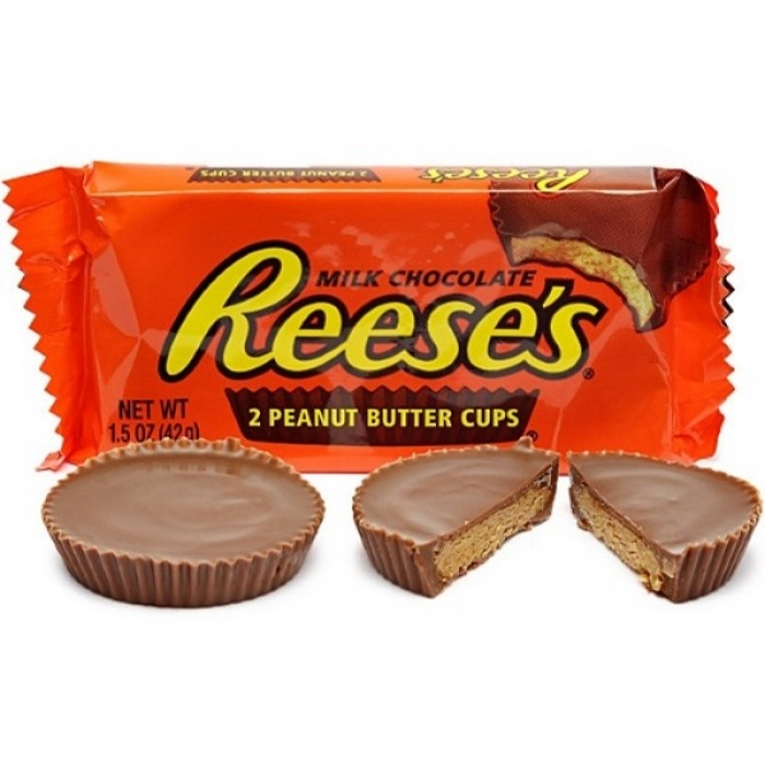 Reese's Milk Chocolate Peanut Butter Cups (2 ct)
