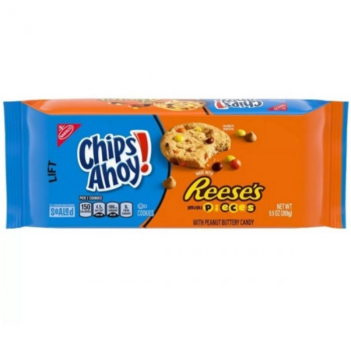 Chips Ahoy Reese's Pieces Cookies