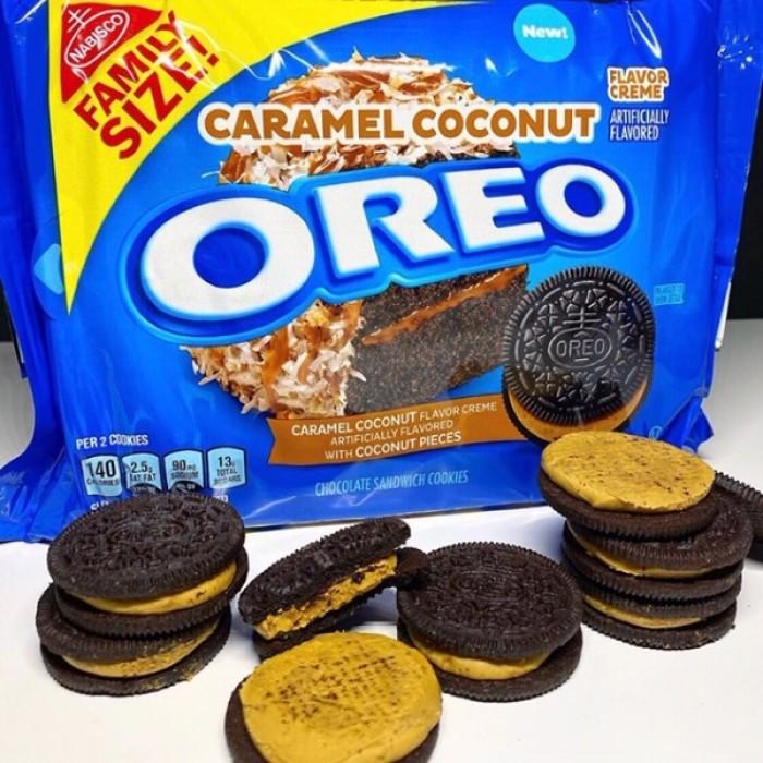 OREO Caramel Coconut Cookies (Family Size)