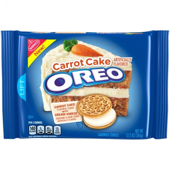 Oreo Carrot Cake Creme Cookies (Family Size)