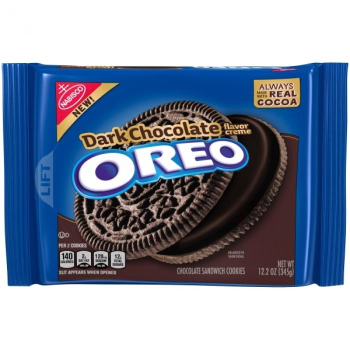 Oreo Dark Chocolate Creme Cookies (Family Size)