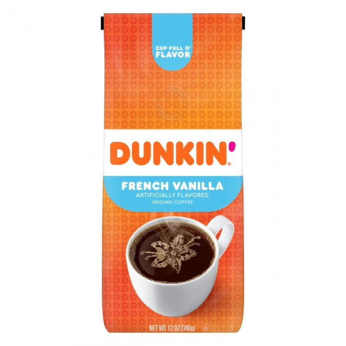 Dunkin' Donuts Ground Coffee French Vanilla